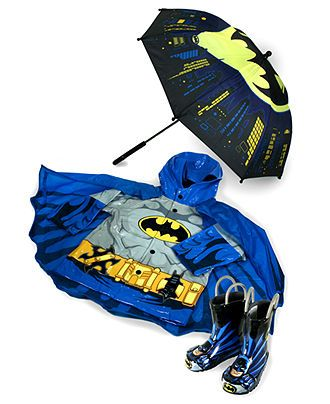 Western Chief Boys Rain Gear, Batman Rain Jacket - Kids - Macy's