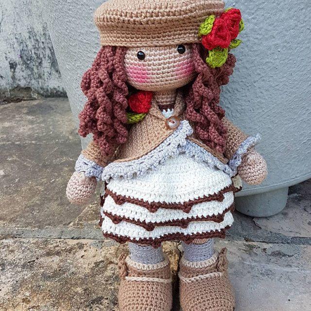 Receita Boneca Lol Sister - Bee no Elo7 | ARTESANATO FLOR DE LIS ... | 640x640