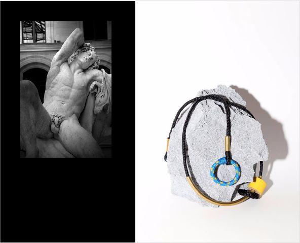 Three Phase Moon B Neckpiece. Buy Online: www.pichulik.com/shop