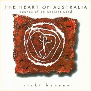 The Heart of Australia AUD $20  Vicki Hansen 'The Heart of Australia' Thoroughly modern and original, The Heart of Australia is grounded in the rhythms of nature and indigenous peoples. Featuring the stunning didgeridoo playing of Aboriginal musician Alan Dargin, tribal rhythms and soaring vocals, this album invites us to lose ourselves in the ecstasy of Nature's pulse.