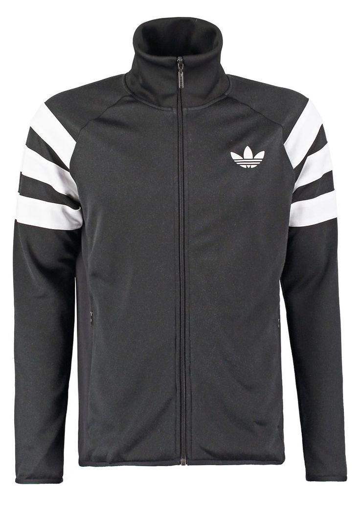 adidas Originals Trainingsjacke black Bekleidung bei Zalando.de   Material Oberstoff: 100% Polyester   Bekleidung jetzt versandkostenfrei bei Zalando.de bestellen!