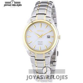 ⬆️😍✅ Seiko Solar de señora 😍⬆️✅ Colosal Modelo perteneciente a la Colección de RELOJES SEIKO ➡️ PRECIO 175.2 € En Oferta Limitada en 😍 https://www.joyasyrelojesonline.es/producto/seiko-solar-reloj-de-cuarzo-para-mujer-con-correa-de-acero-inoxidable-color-plateado/ 😍 ¡¡No los dejes Escapar!! #Relojes #RelojesSeiko #Seiko