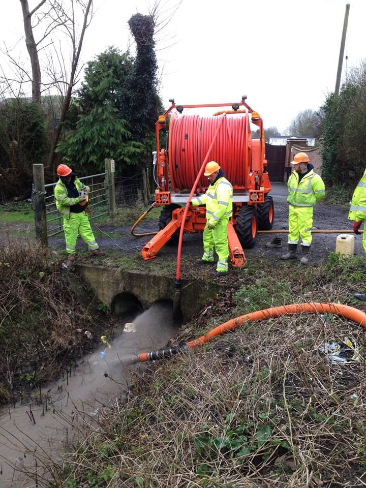 A team of our engineers used MEGA REEL to clear 4 x 400m #culverts! It was #awesome work from our #specialist #equipment and #expert #engineers!