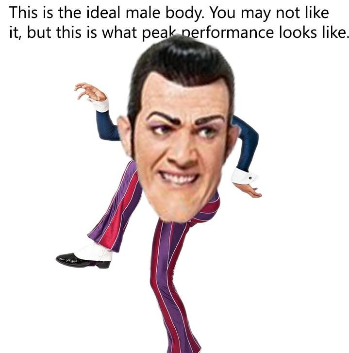 Why'd Robbie Rotten become such a dank meme? Why'd Lazy Town become a dank meme? *cries in Sportacus*