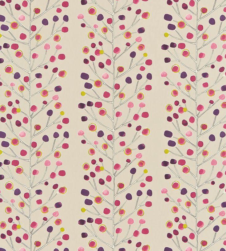 Berry Tree Fabric by Scion | Jane Clayton