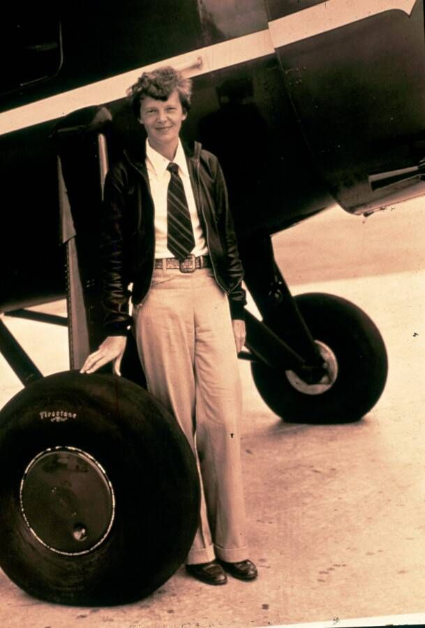 Amelia Earhart knew she could fly when told she shouldn't.
