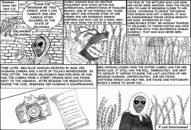 Insomnia - Comic No 1 - Part 1/2