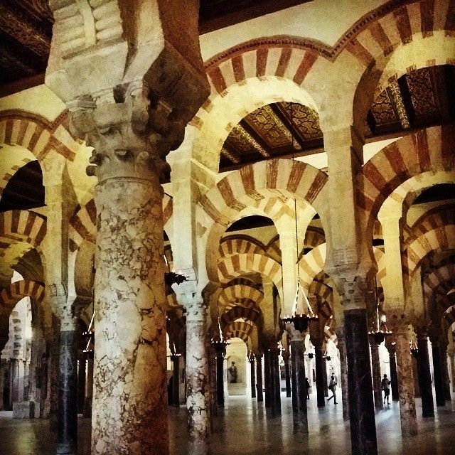 Cordoba. Used to be the capital of an Islamic caliphate in the Middle Ages