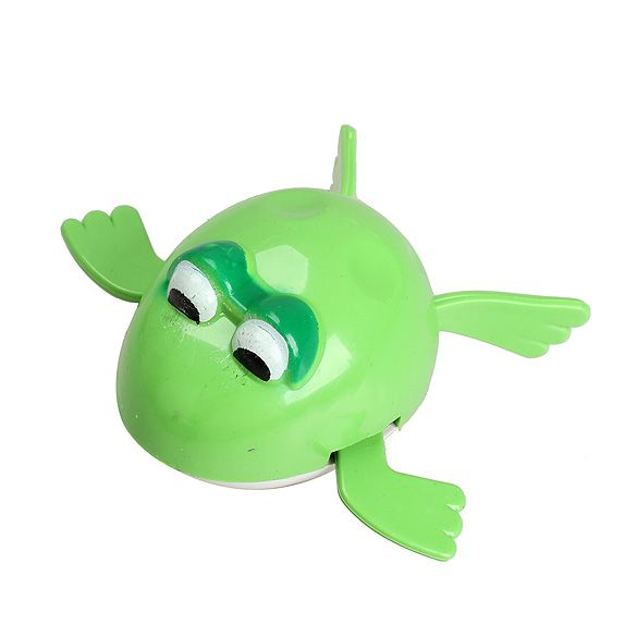 Hot Sell Wind up Frogman Bath Diver Toy Swimming Frog Baby Kids Bathing Toys   FL