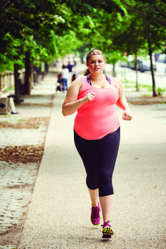 Nobody else can determine what you are capable of. We are so inspired by this plus-size runner and are motivated by what she does!