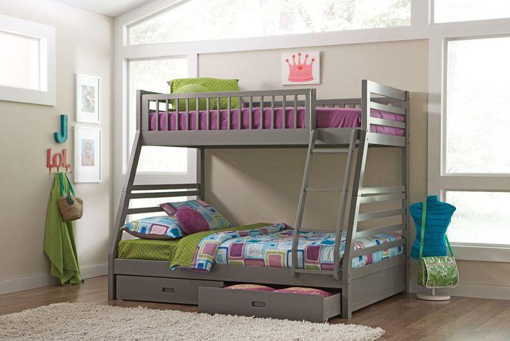 Best Wildon Home ® Cooper Bunk Bed With Storage Allmodern 400 x 300