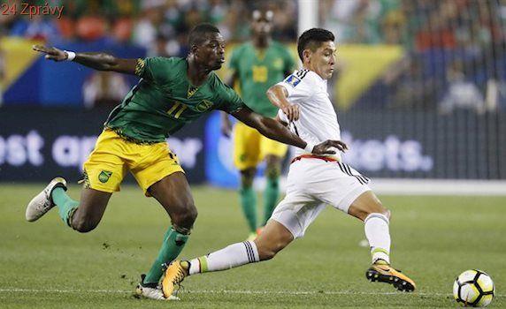 Jamajka ubránila na Zlatém poháru remízu s Mexikem