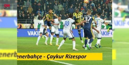 Fenerbahçe-Rizespor maçı izle | beIN Sport canlı yayın (29. Hafta): Fenerbahçe-Rizespor maçı beIN Sports'tan canlı izlenebiliyor. Sarı-Lacivertli taraftarların heyecanla bekledikleri karşılaşma, bugün saat 16.00'da başlıyor. Ligi en kötü ihtimalle 2. sırada tamamlayarak gelecek sezon Şampiyonlar Ligi'nde olmak isteyen Fenerbahçe, sahasında kazanmak isterken, rakibi Çaykur Rizespor ise ligde kalma mücadelesinde puan kaybeden taraf olmak istemiyor. Heyecanla beklenen Fenerbahçe-Rizespor maçı…