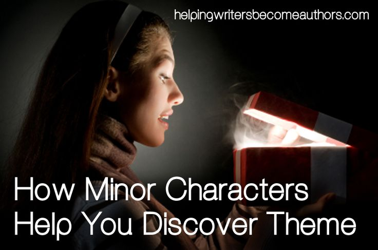 Find out how to put key minor characters to work in helping you build a more coherent and resonant theme.
