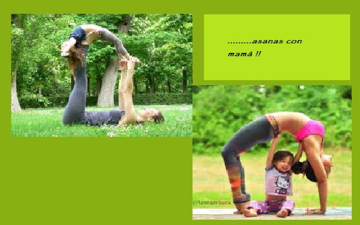 Si la familia practica yoga para los peques de la casa es - Compritas para los peques ...