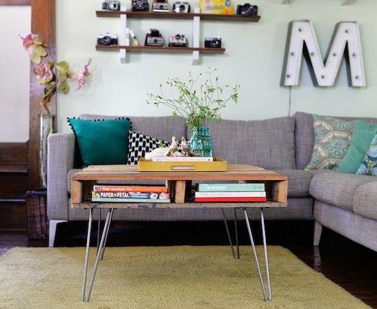 Pallet coffee table tutorial