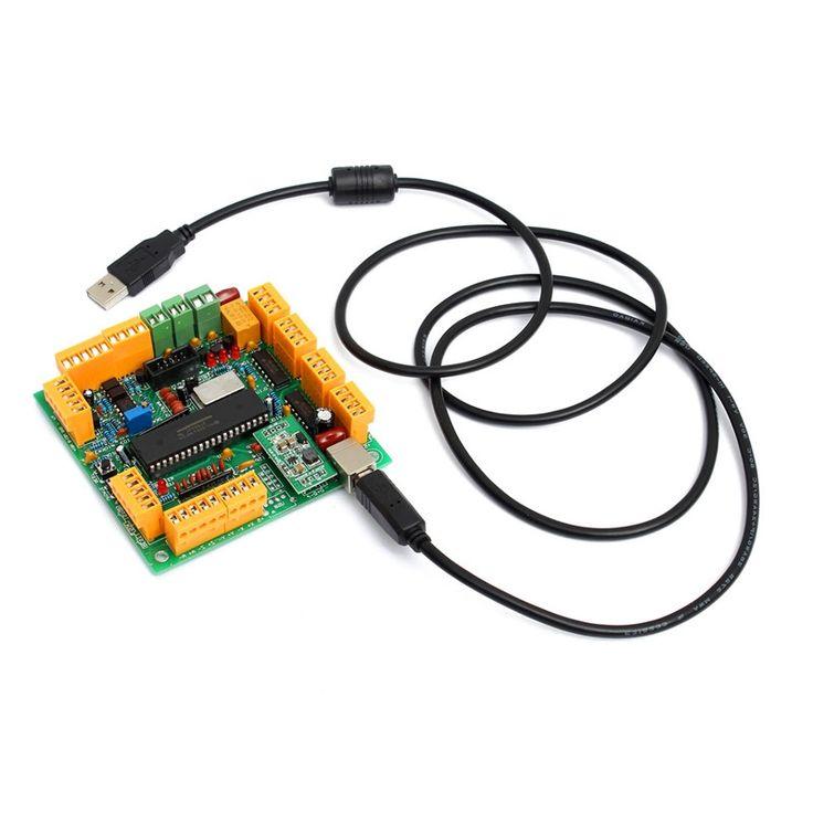 26.89$  Buy here - https://alitems.com/g/1e8d114494b01f4c715516525dc3e8/?i=5&ulp=https%3A%2F%2Fwww.aliexpress.com%2Fitem%2FBest-Price-4-Axis-USB-CNC-Controller-Interface-Board-CNCUSB-MK1-USBCNC-2-1-Substitute-MACH3%2F32719058175.html - Best Price 4 Axis USB CNC Controller Interface Board CNCUSB MK1 USBCNC 2.1 Substitute MACH3 High Quality 26.89$
