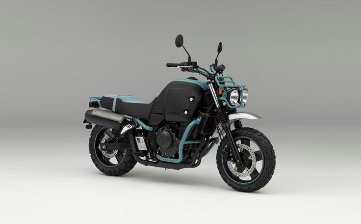 honda bulldog concept model unveiled at osaka motorcycle show 2015