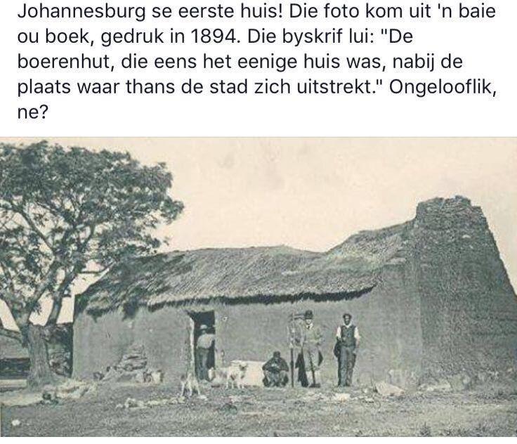 Johannesburg, Suid-Afrika 1894