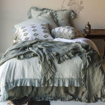 Linen Whisper Duvet Cover: Bedding, Bellanotte, Beds, Whisper Linen, Beautiful Night, Duvet Covers, Notte Linens, Linen Whisper, Bedrooms