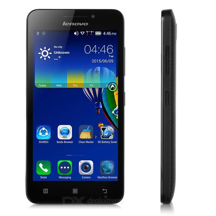 Lenovo A3600d Quad Core Android 4G Phone 512MB RAM, 4GB ROM Black $49.28…