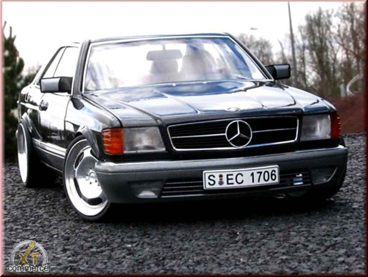 Mercedes 500 SEC wheels 20 inches Autoart diecast model car 1/18 - Buy/Sell Diecast car on Alldiecast.us