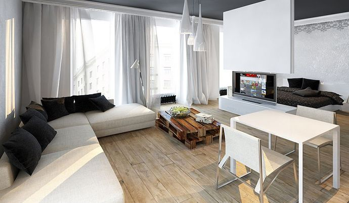 50m2 apartment design - Google Search
