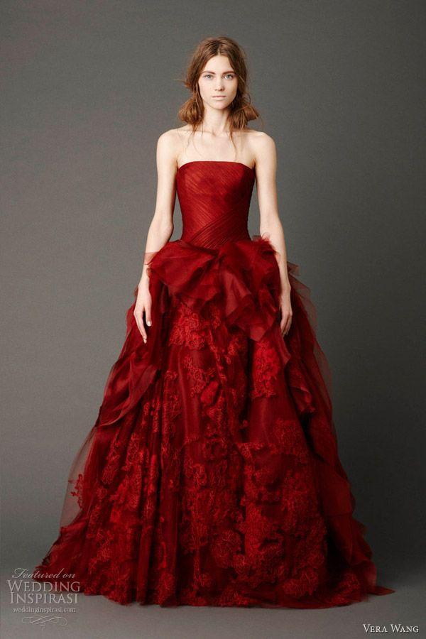 http://www.weddinginspirasi.com/wp-content/uploads/2012/04/vera-wang-bridal-spring-2013-wedding-dresses.jpg: Vera Wang, Verawang, Wedding Dressses, Bridal Collection, Red, Wedding Dresses, Weddings, Bridal Gowns, Spring 2013