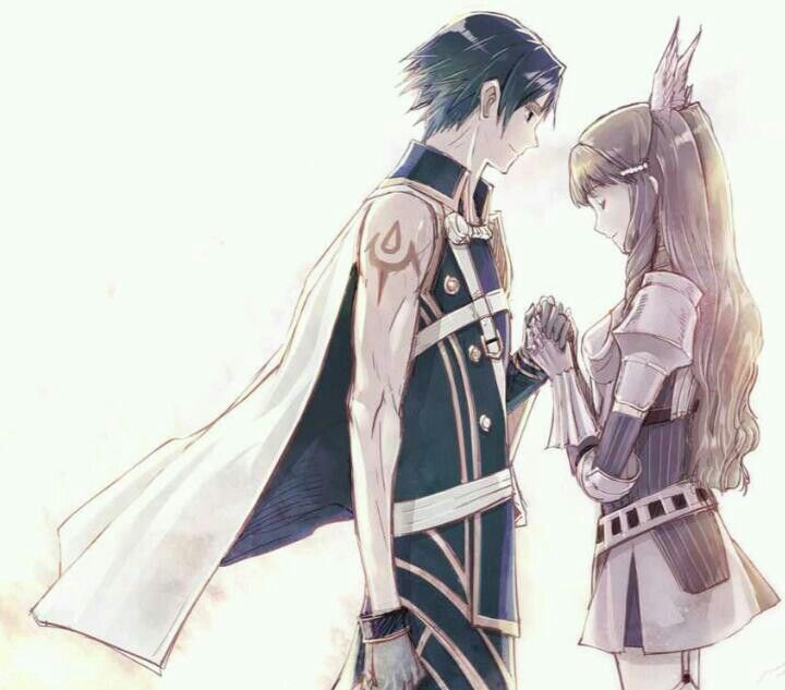 Fire Emblem Awakening. I don't even ship Chrom and Sumia ...