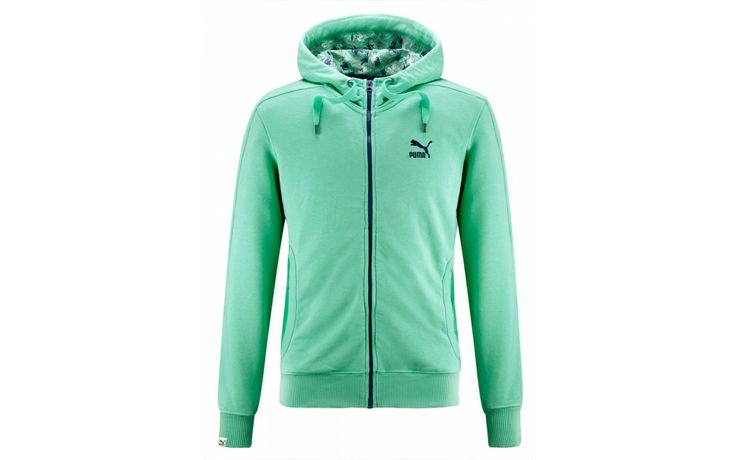 PUMA FULL-ZIP HOODIE FLOREAL PACK #PUMA #awlab #floreal #apparel #clothing
