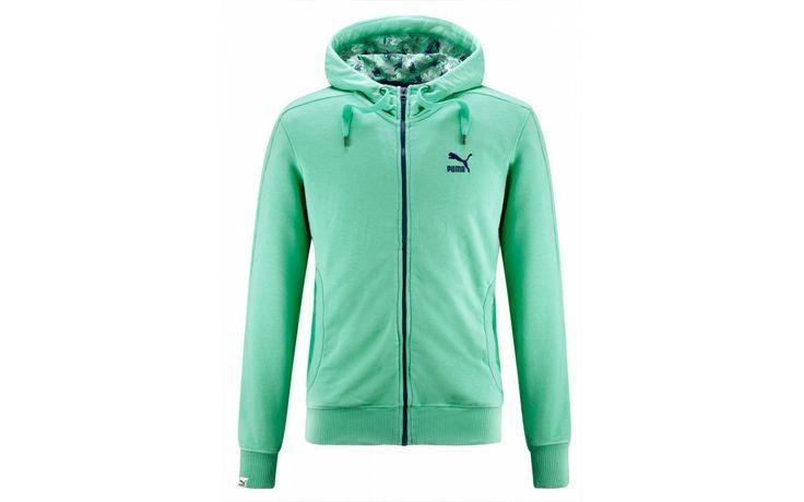 PUMA FULL-ZIP HOODIE FLOREAL PACK #PUMA #awlab #floreal #apparel #clothing
