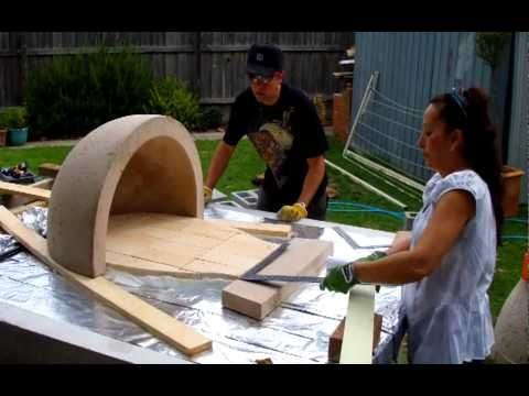 How to build your own pizza oven. - YouTube