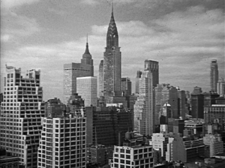 Manhattan landscape 1964 - The Man From UNCLE episode 1
