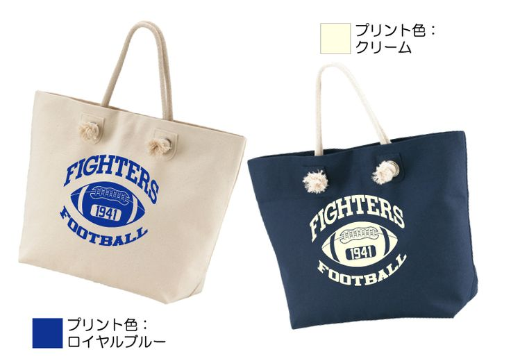 FIGHTERS トートバッグ