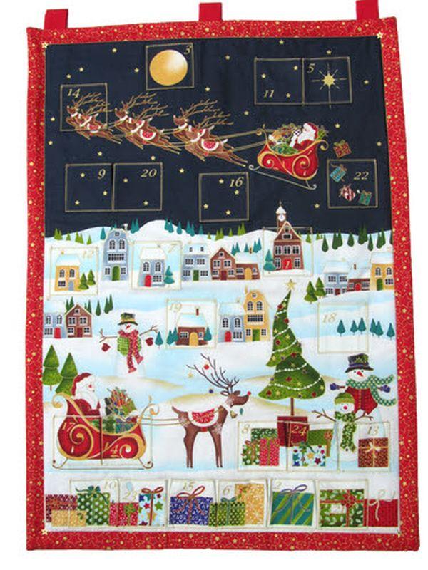 Novelty Fabric Advent Calendar