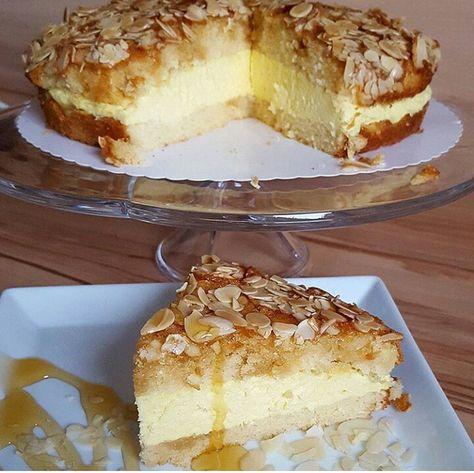 Bienenstich/arı sokması almanların meşhur pastası