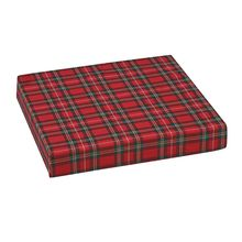Polyfoam Wheelchair Cushion, Standard, Plaid