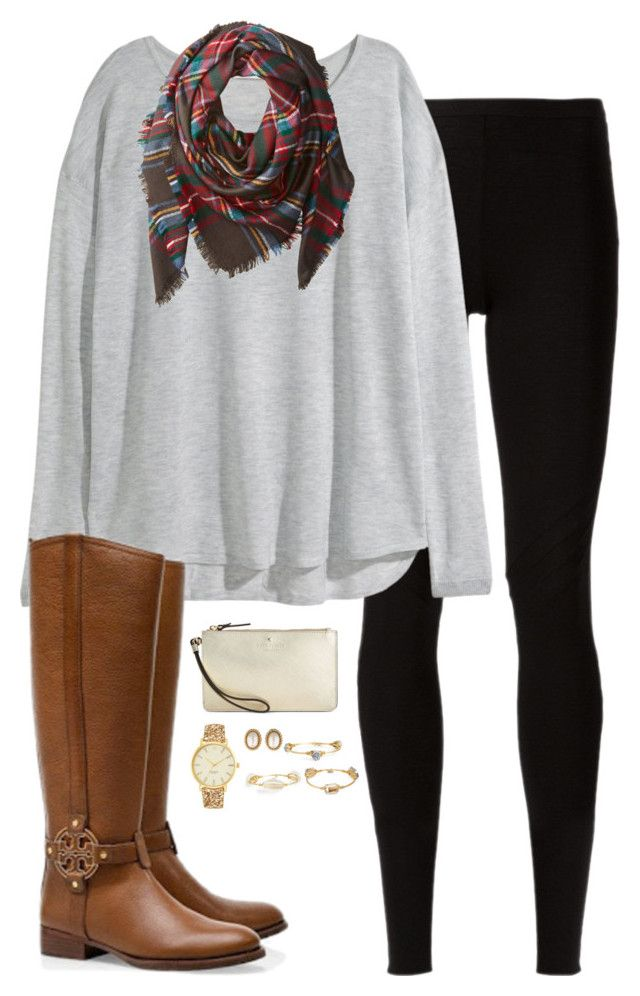 """""""Thanksgiving is in 12 days"""" by sc-prep-girl ❤ liked on Polyvore featuring Rick Owens Lilies, H&M, Buji Baja, Tory Burch, Kate Spade, Christian Dior and Bourbon and Boweties"""