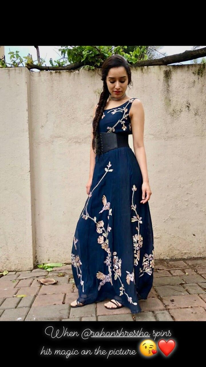 5e6770423e97b7 Shraddha kapoor looking gorgeous at stree movie promotions ...