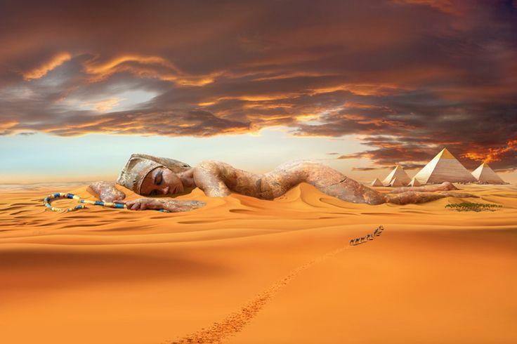 Die Welt der Fantasy Kunst - Sleeping Pharaoh.  H.P. Kolb ART