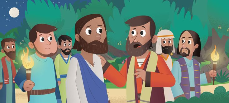 """New in the Bible App for Kids """"In the Garden"""" Peter"""