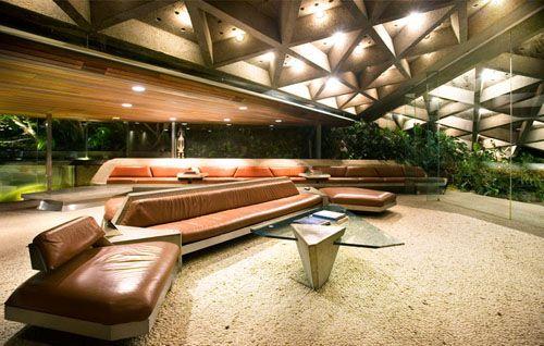 John Lautner. The Sheats-Goldenstein residence.