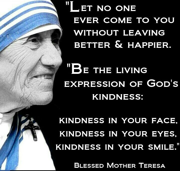 Quote From Mother Teresa: Words Of Encouragement/Hope/Wisdom/Truth