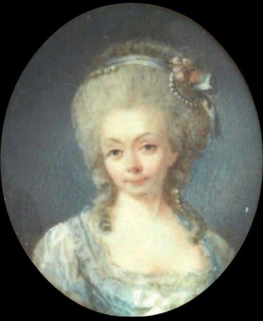 Portrait de Madame de Tourville, Dame d'Honneur de la