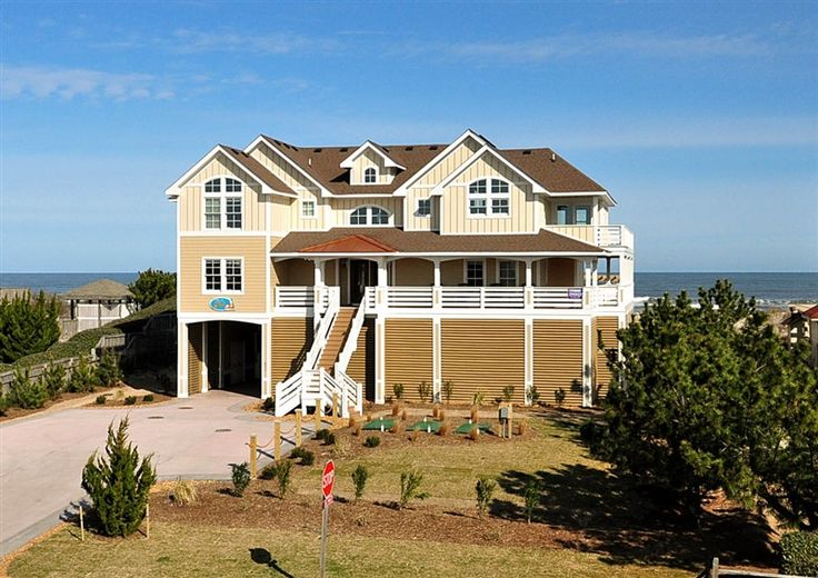 Twiddy Outer Banks Vacation Home Tupelo Honey Corolla Oceanfront 10 Bedrooms Cinquino