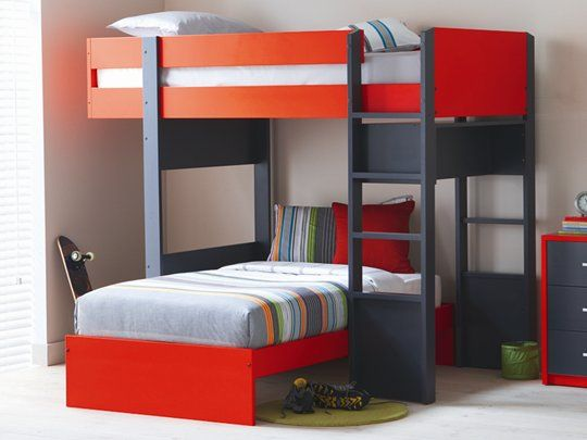 Matrix Single Bunk Frame Australian Made Available In A Range Of Colours Keep The Kids Room Tidy With Variety Cabinet Storage Pinteres