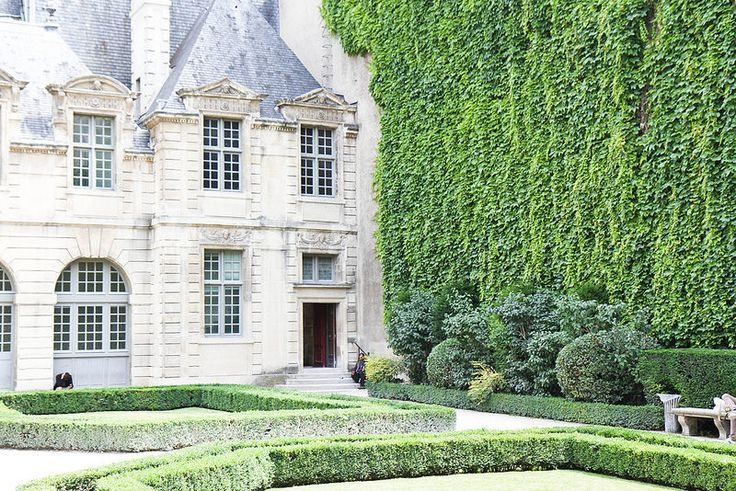 Hotel de Sully in Paris. It is a hôtel particulier, or private mansion, in the Louis XIII style and located in the Le Marais or IV arondissement at 62 rue Saint-Antoine. Going through the courtyards at Hotel de Sully is the loveliest shortcut to place des Vosges from Rue Saint Antoine.