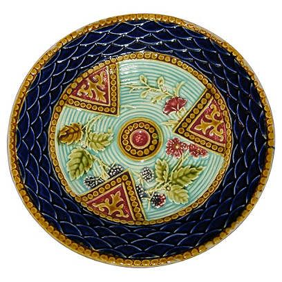 413 Best Images About Majolica Plates And Platters On