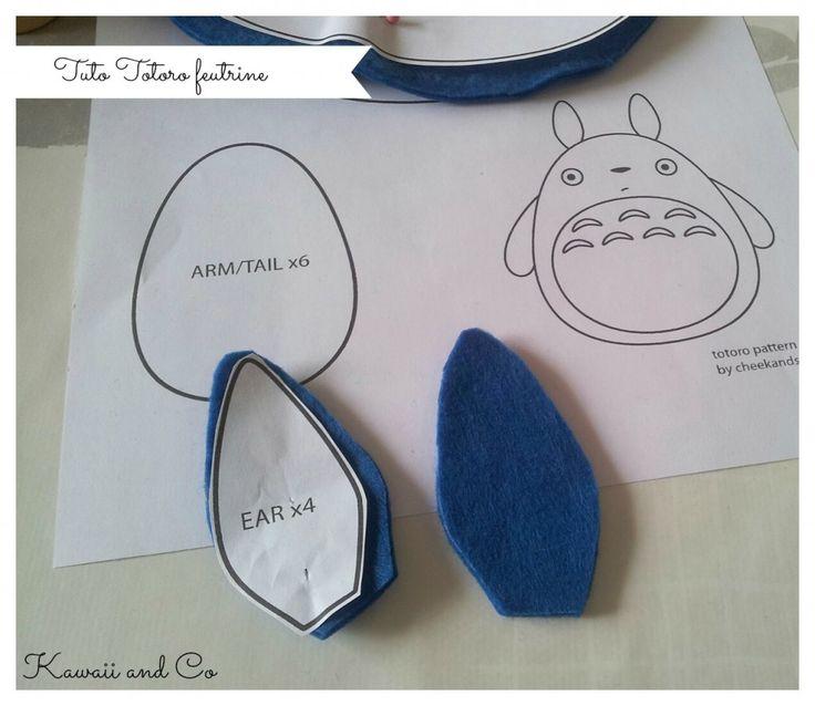 Tuto Totoro feutrine