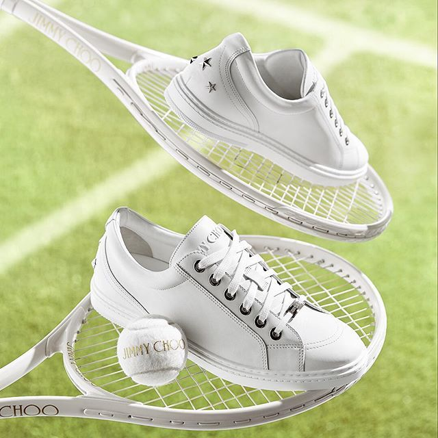 Get your tennis whites in line for courtside action at #Wimbledon this weekend with CASH, the men's trainer guaranteed to make a statement.